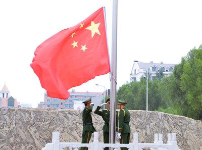 哈尔滨广厦学院隆重举行2017级新生开学典礼暨军训开营式